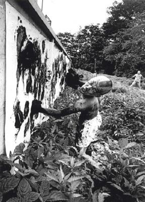 William Klein Fighter Painter,1961