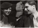 Gerda Taro and Robert Capa, Paris, 1935 -by Fred Stein