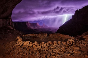 Thunderstorm at False Kiva