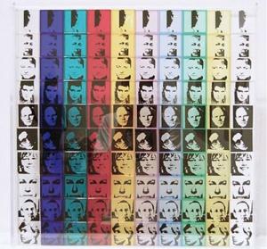 © Andy Warhol, πορτραίτα καλλιτεχνών, σεριγραφία. 1967
