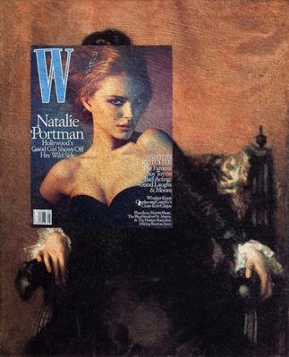 portrait of natalie portman Natalie Portman, W Magazine May 2005 + Portrait of Frances Sherborne Ridley Watts by John Singer Sargent