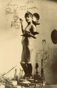 η Môme Fromage στο ατελιέ του Lautrec , 1890.