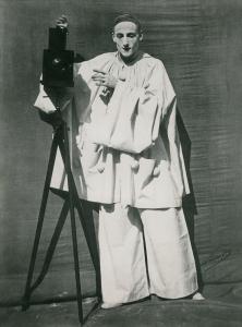 πορτραίτο του Jean Charles Deburau (1829-73) σαν Pierrot, c.1850-60