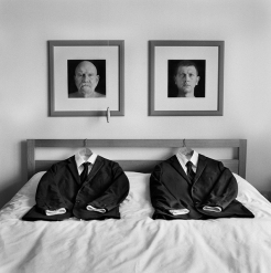 John Paul Evans, Winner 2016 γάμος A series of images exploring themes of marriage, gender, otherness and generational divides. A medium format silver gelatin image scanned on an Imacon scanner.