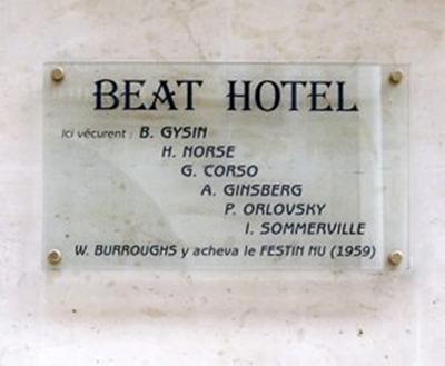 Beat Hotel 9,rue Gît-le-Cœur, Paris