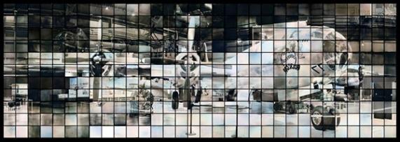 """© Takashi Arai """"μακέτα για ένα πολλαπλό μνημείο για το B29:Bockscar"""" 2014 Δαγγεροτυπία"""
