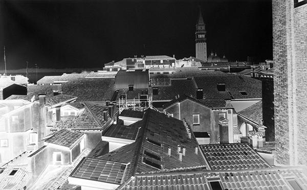 "© Vera Lutter ""Βενετία"" αργυροτυπία μοναδικό αντίτυπο"
