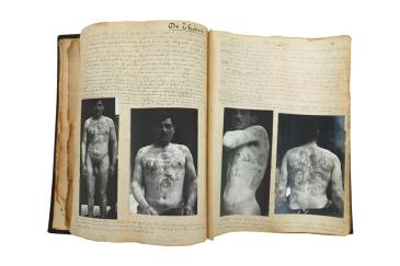 5-inspecteur Pagneux, προσωπικό ημερολόγιο του επιθεωρητή Pagneux με Γάλλους εγκληματίες, 1895 - 1904