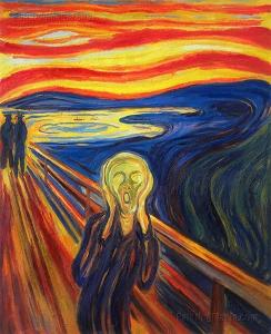 "Edvard Munch -""κραυγή"""