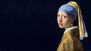 Vermeer -κορίτσι με μαργαριταρένιο σκουλαρίκι