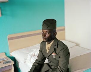 Susan Worsham 'Marine, Hotel Near Airport', Richmond, VA, 2009. Courtesy Candela Gallery