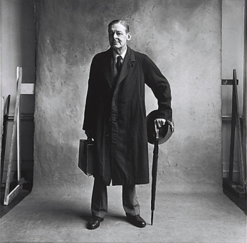 ο ποιητής T.S. Eliot, Λονδίνο Gelatin silver print