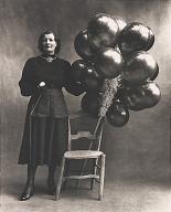 πωλήτρια μπαλονιών, Παρίσι Platinum - palladium print
