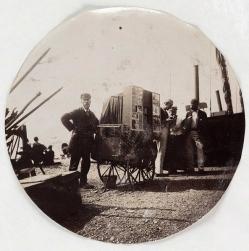 υπαίθριος φωτογράφος (περίπου 1890)