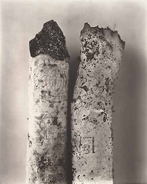 Cigarette No. 78, New York Platinum - palladium print