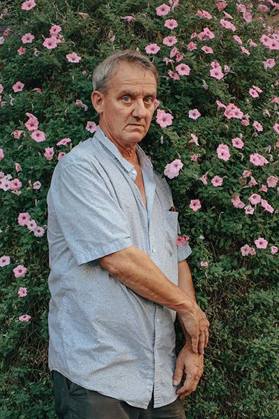 ο καλλιτέχνης Fred Cray.