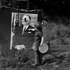 Juan and J. Edgar Hoover, Woody Creek c. 1960s.