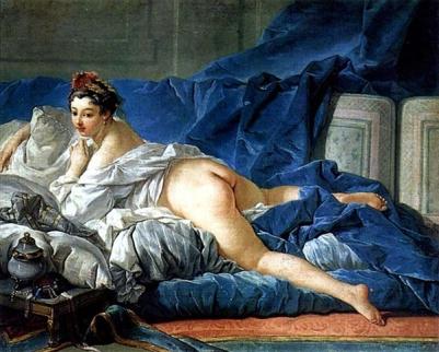 Francois Boucher's L'Odalisque Brune (1745)
