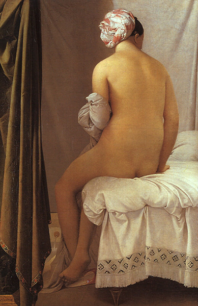 Jean-Auguste-Dominique Ingres The Valpinçon Bather (1806)