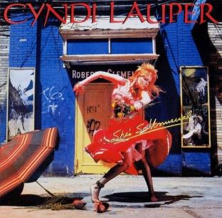 Annie Leibovitz για Cindy Lauper