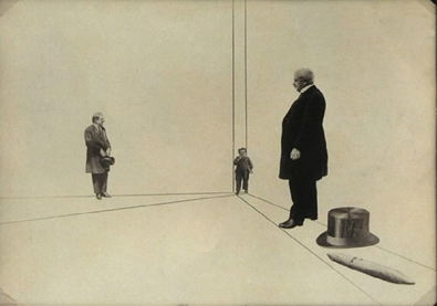 Τα μεγέθη μας, οι μεγάλοι άντρες μας, 1924, φωτοπλαστική