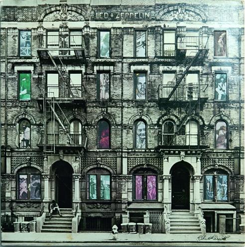 Elliott Erwitt για Led Zeppelin