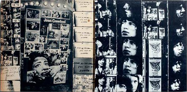 Robert Frank για Rolling Stones επικολλήσεις από ταινία 8mm