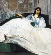 Édouard Manet, η ερωμένη του Μπωντλαίρ (πορτραίτο της Jeanne Duval), 1862. ©Museum of Fine Arts, Budapest