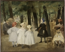 Édouard Manet, παιδιά στους κήπους Tuileries, 1861–62. ©Rhode Island School of Design, Providence