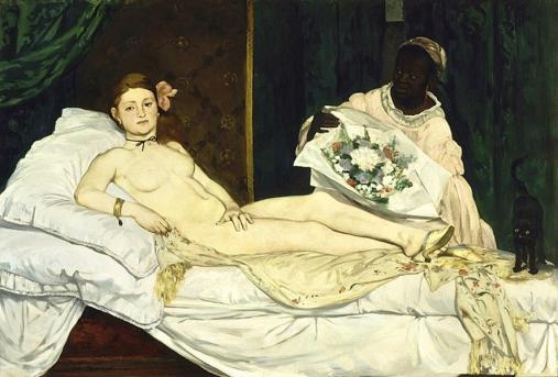 Edouard_Manet 'Ολυμπία', 1863 ©Musée d'Orsay, Paris