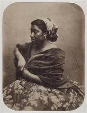 Félix Nadar, πορτραίτο γυναίκας των Αντιλλών, Μαρία. ©Ministère de la Culture, France