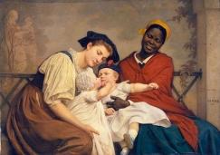 Jacques-Eugène Feyen, το φιλί του μωρού, 1865 ©Palais des Beaux-Arts, Lille
