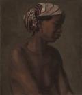 "Thomas Eakins_s ""γυναίκα μοντέλο"" (προηγούμενος τίτλος 'La Negresse') circa 1867-69 ©De Young Museum, San Francisco, California"