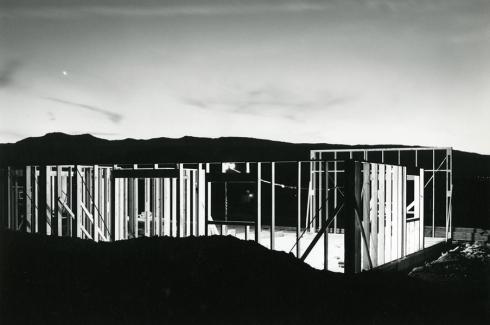 © Lewis Baltz, Night Construction, 1977