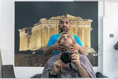 κουρείο_Κυψέλη_Αθήνα © Γ. Γιαννόπουλος