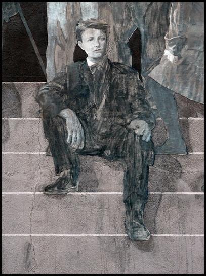 Arthur Rimbaud © Ernest Pignon-Ernest