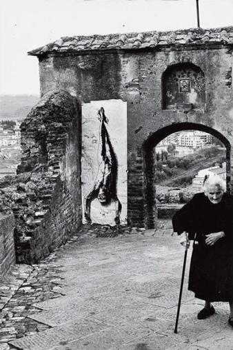 Παζολίνι Certaldo 1980 © Ernest Pignon-Ernest