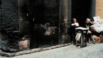 Κοίμηση της Παρθένου του Καραβάτζιο © Ernest Pignon-Ernest