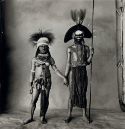 νεαρό ζευγάρι Enga ,Νέα Γουινέα