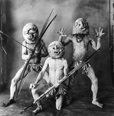 τρεις λασπάνθρωποι Asaro, Νέα Γουινέα