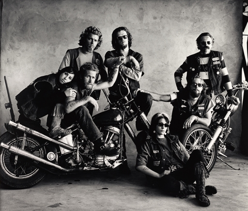 hell's angels, san francisco