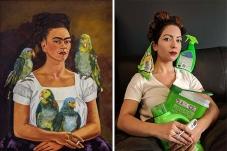 εγώ και οι παπαγάλοι μου, Φρίντα Κάλο © Paul Getty Museum