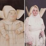 ηγουμένη, Φερνάντο Μποτερό © Paul Getty Museum