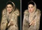 κυρία με τη γούνα, Αλόνσο Σάντσεθ Κοέλιο © Paul Getty Museum