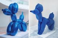 μπαλόνι σκύλος (μπλε), Τζεφ Κουνς © Paul Getty Museum