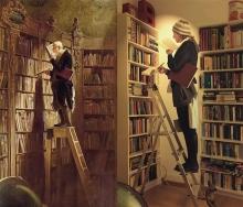 ο βιβλιοφάγος, Καρλ Σπίτσβεγκ © Paul Getty Museum