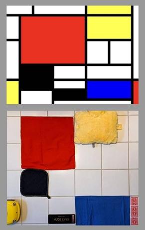 σύνθεση σε κόκκινο, κίτρινο και μπλε, Πιετ Μοντριάν © Paul Getty Museum