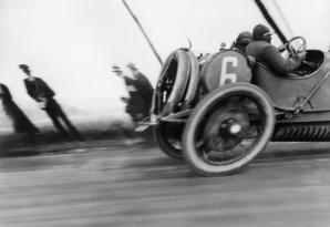 Grand Prix de l'ACF, automobile Delage, Circuit de Dieppe, 1912 © Ministère de la Culture - France