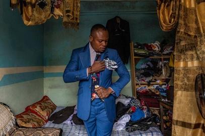Nino, 31 ετών, Brazzaville. © Tariq Zaidi