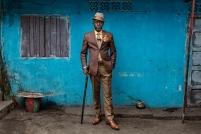 Μπαζίλ, 51 ετών, Brazzaville. © Tariq Zaidi